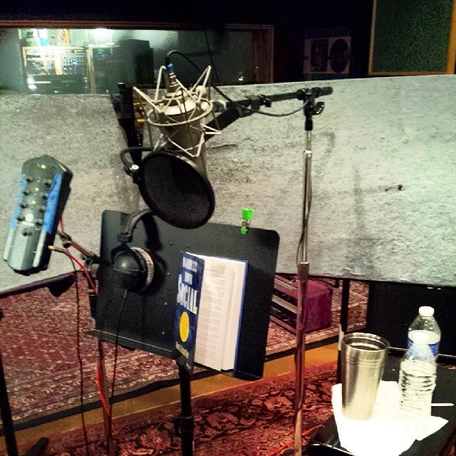 Neal Schaffer Maximize Your Social Audiobook Setup