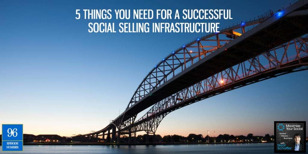 5 Things You Need for a Successful Social Selling Infrastructure – Podcast Ep. 96