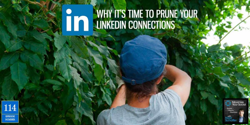 Why It's Time to Prune Your LinkedIn Connections – Podcast Ep. 114