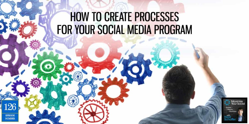 How to Create Processes for Your Social Media Program – Podcast Ep. 126